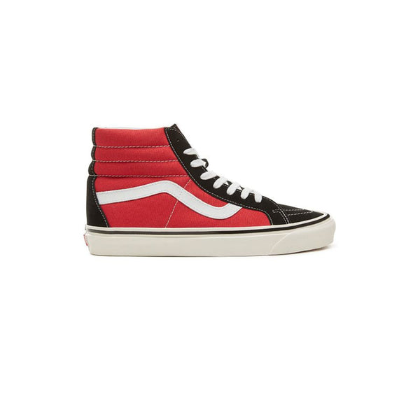 VANS Anaheim Factory Sk8 Hi - Red / Black