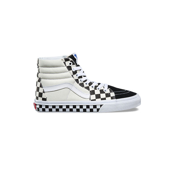 VANS SK8-Hi - Checker Sidewall Black / White