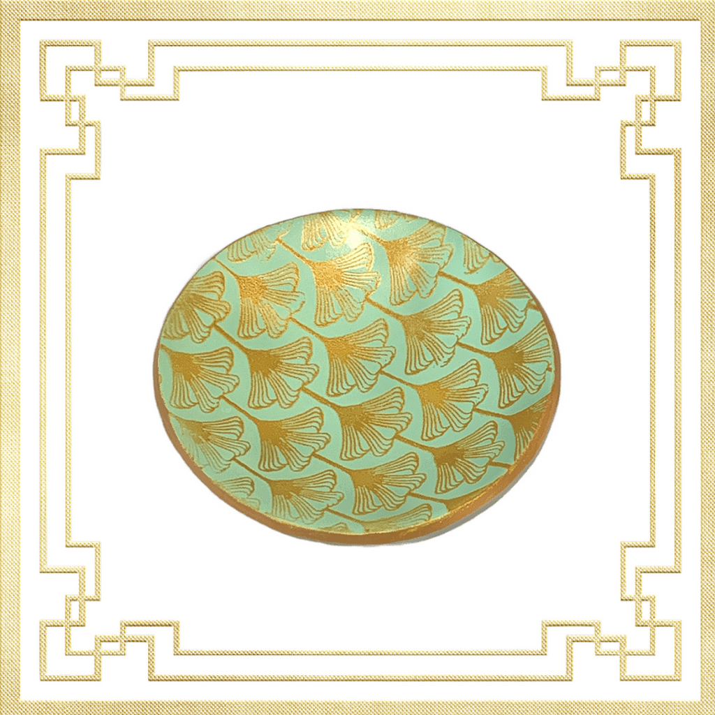 Mint Art Deco Ring Dish | Commissions at Lottie Of London Jewellery