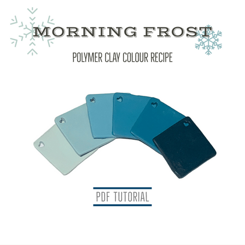 Polymer clay colour mixing recipes | PDF tutorials for polymer clay