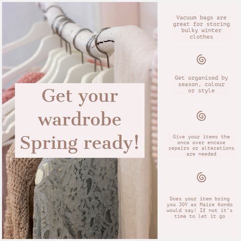 Get your wardrobe spring ready