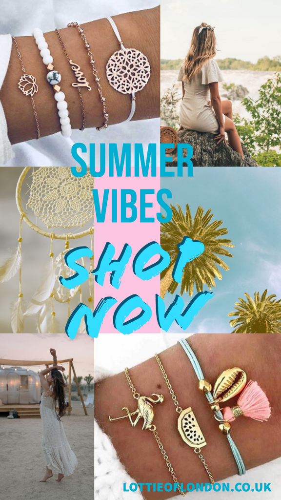 Shop those summer vibes at Lottie Of London Jewellery