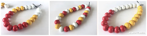 Full bead necklace commission at Lottie Of London Jewellery