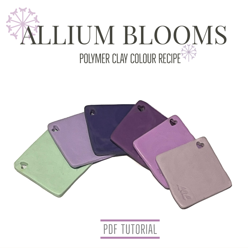 Polymer Clay Tutorial for Colour Mixing Recipes | PDF Tutorials at Lottie Of London