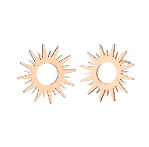 Sun Stud earrings for women | Modern jewellery gift ideas
