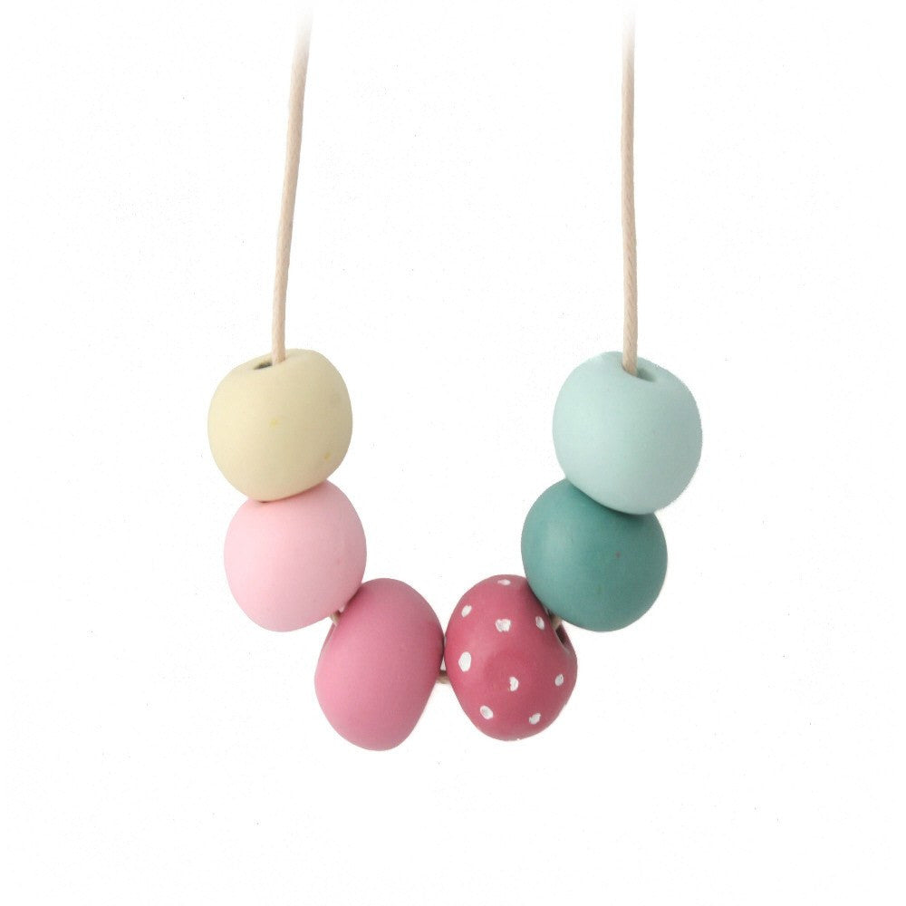 Long Bead Necklace for Women | Multicoloured - Lottie Of London Jewellery