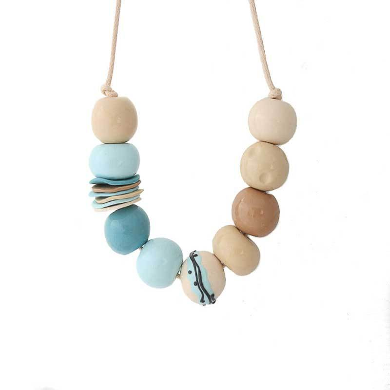 Unique Statement Bead Necklace for Women - Lottie Of London Jewellery