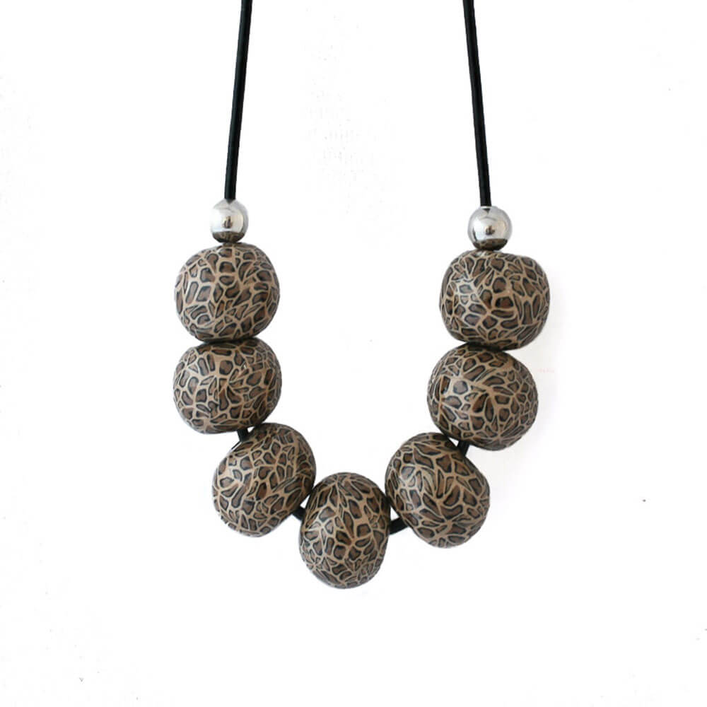 Leopard Print Necklace - Lottie Of London Jewellery