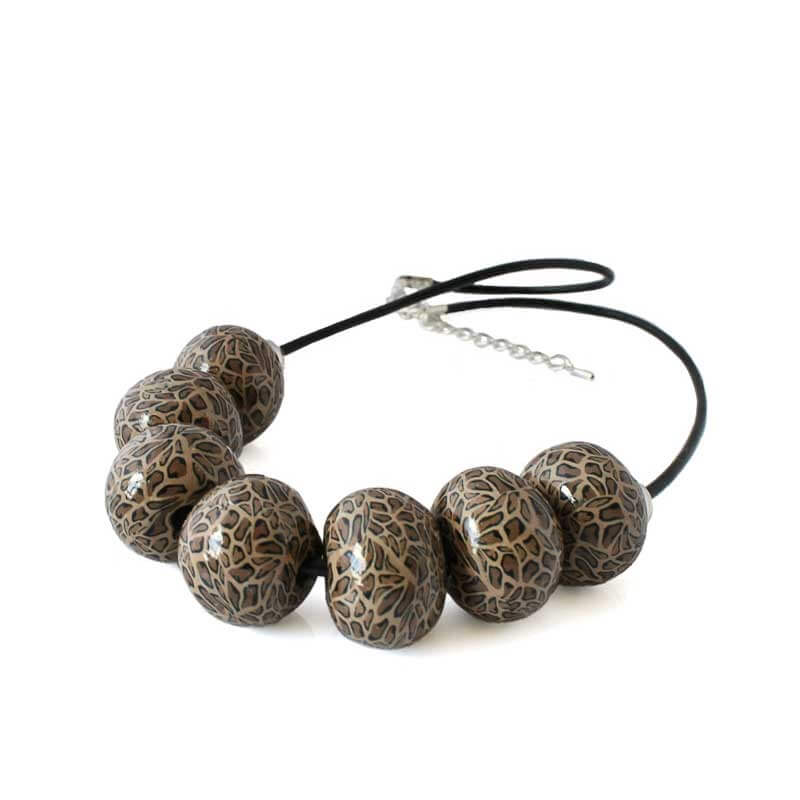 Leopard Print Necklace for Women - Lottie Of London Jewellery