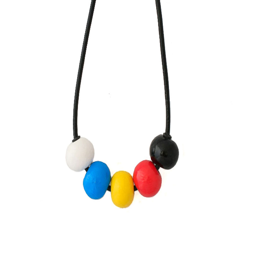 Multi Colour Chunky Statement Necklace - Lottie Of London Jewellery