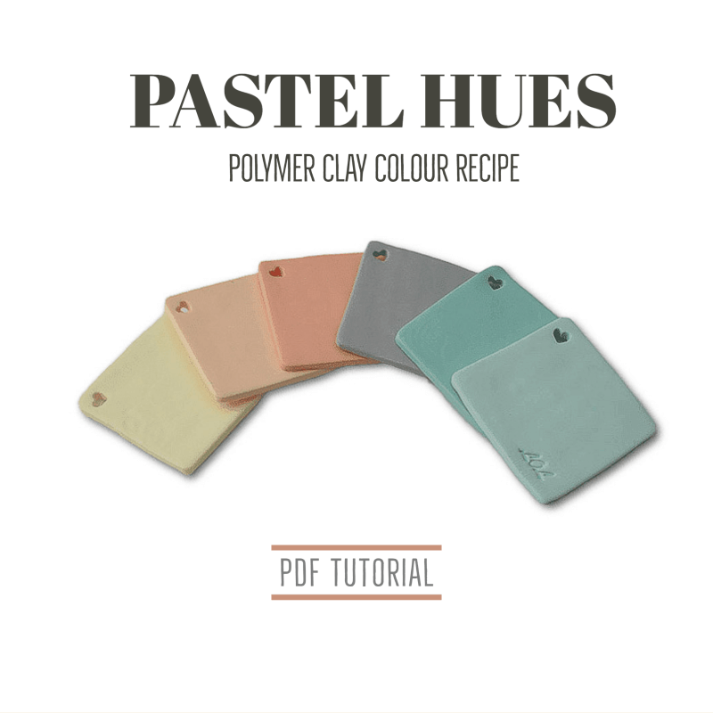 Polymer Clay Colour Mixing Recipes | PDF Tutorials from Lottie Of London