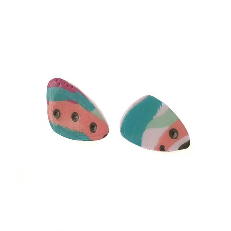 Abstract Statement earrings for women