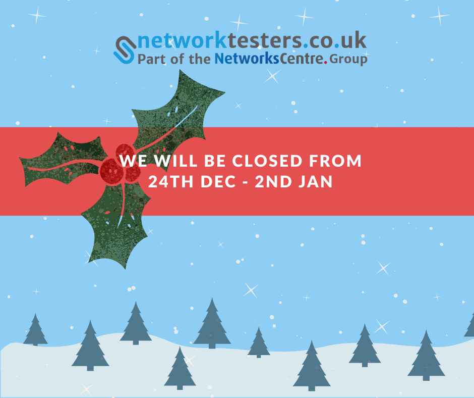Network Testers Christmas Dates