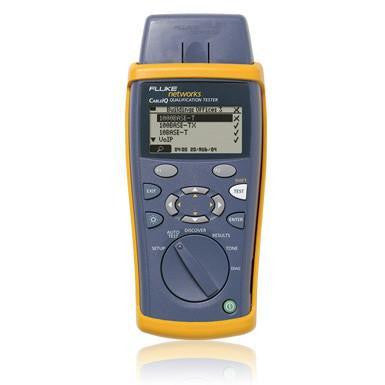 Fluke Networks CableIQ™ Qualification Tester - networktesters.co.uk