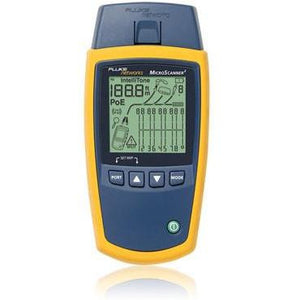 Fluke Networks MicroScanner Cable Verifier - networktesters.co.uk