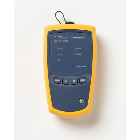 Fluke Networks SimpliFiber® Pro Optical Power Meter - SFSINGLEMODESOURCE