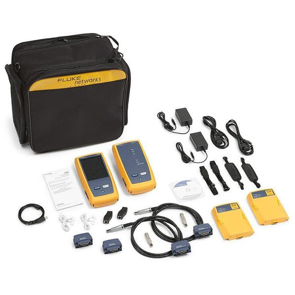 Fluke Networks Gold Support: DSX CableAnalyzer - DSX-5000 & DSX-5000QI - networktesters.co.uk