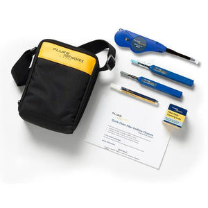 Fluke Networks Enhanced Fibre Optic Cleaning Kit - NFC-KIT-CASE