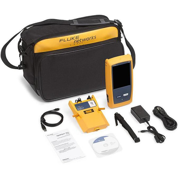Fluke Networks Gold Support: OptiFibre Pro Quad - OFP-100-Q & OFP-100-QI - networktesters.co.uk