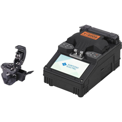 Sumitomo T-400S Fusion Splicer & Cleaver Kit - networktesters.co.uk