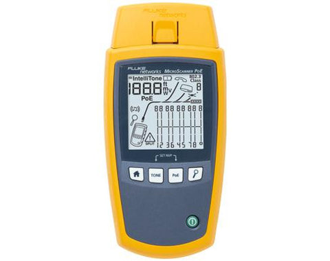 Fluke Networks Micro Scanner Cable Verifier - MS-POE