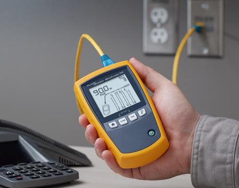 MicroScanner Cable Verifier from Fluke Networks - MS-POE