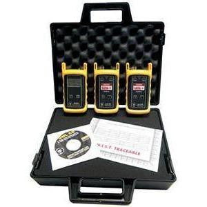 OWL ZOOM 2 850/1300 and 1310/1550 Quad Wavelength MM and SM Light Source and Power Meter Kit - OWL-KIT-Z2-D2SC-L2-SC
