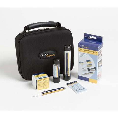 Fluke Networks Fibre Optic Cleaning Kit - NFC-KIT-CASE