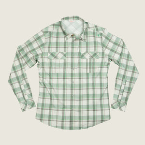 Cayo LS - Green Plaid