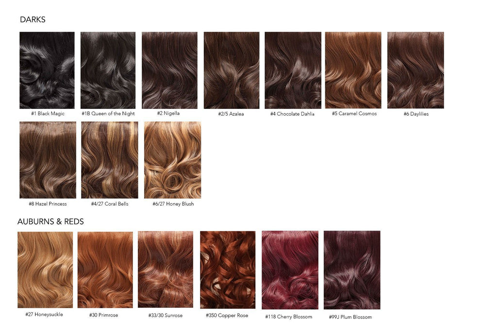 Hair Extensions Color Guide User Guide Manual That Easy To Read