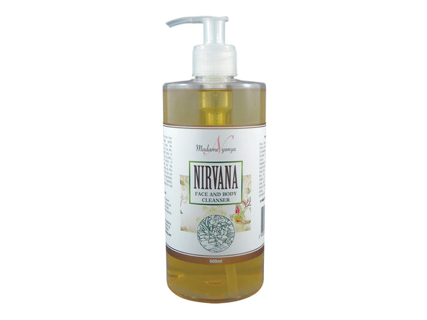 Nirvana Face and Body Cleanser - Sulphate Free 500ml