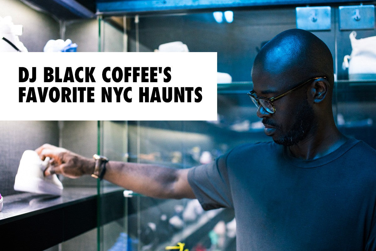 DJ Black Coffee is a Secret Sneakerhead, Here are His Favorite NYC Haunts