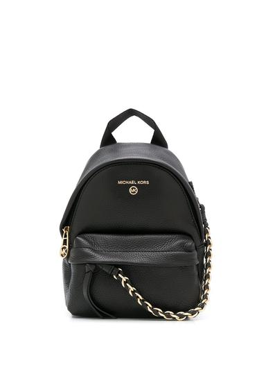 MICHAEL KORS BLACK BACKPACK