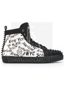 Philipp Plein New York Motif Sneakers