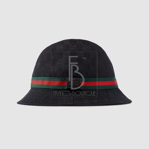 Gucci Gg Fedora With Web