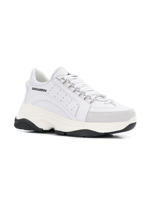 DSQUARED2 WHITE SNEAKERS