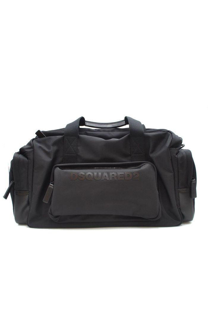 DSQUARED2 BLACK TRAVEL BAG