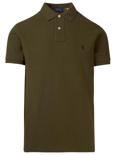 RALPH LAUREN GREEN POLO SHIRT