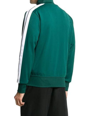 PALM ANGELS GREEN SWEATSHIRT