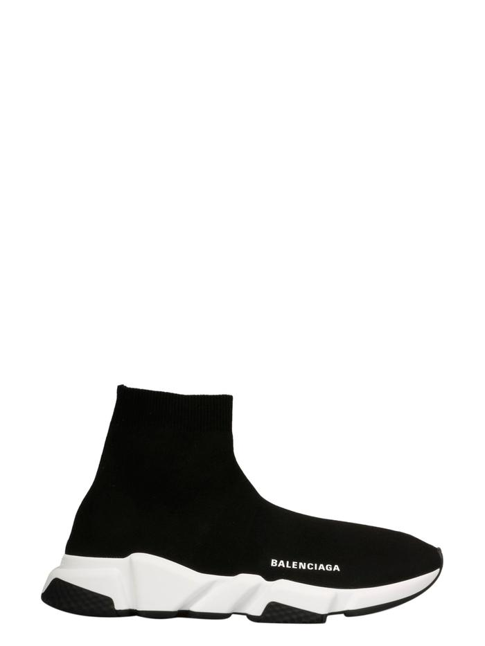 BALENCIAGA BLACK SLIP ON SNEAKERS