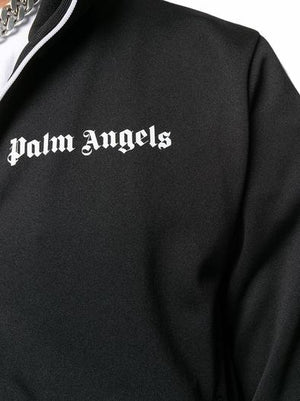 PALM ANGELS BLACK SWEATSHIRT