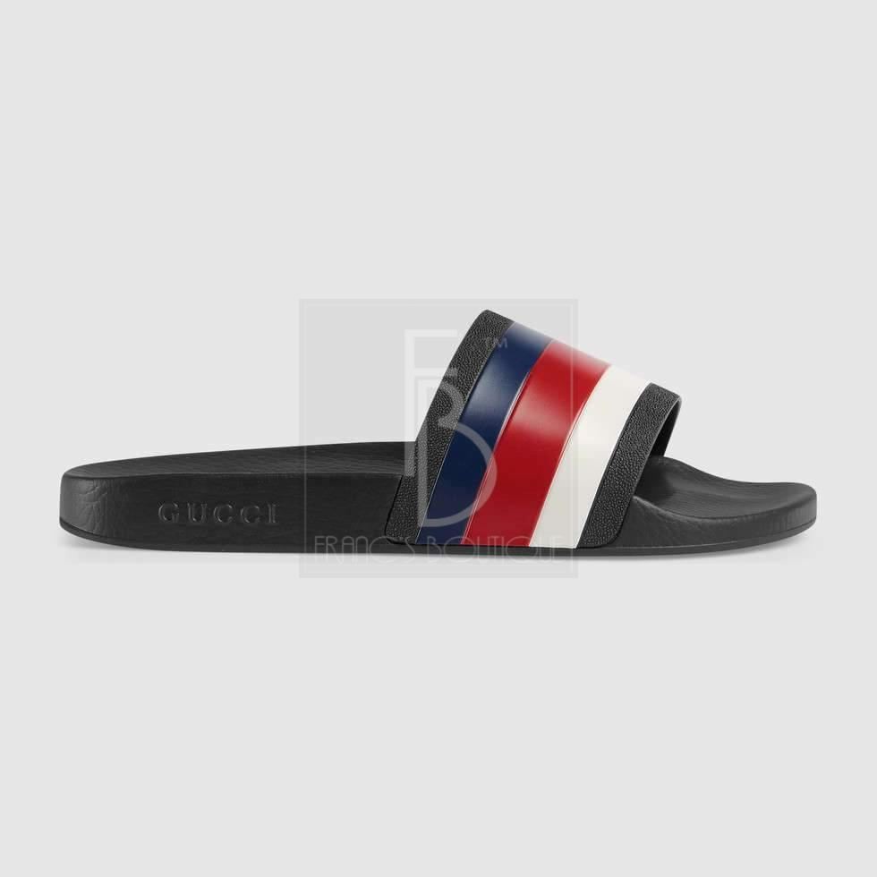 57524c1d525 Gucci Rubber slide sandal – franc s boutique
