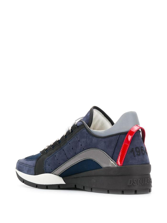 DSQUARED2 BLUE SNEAKERS