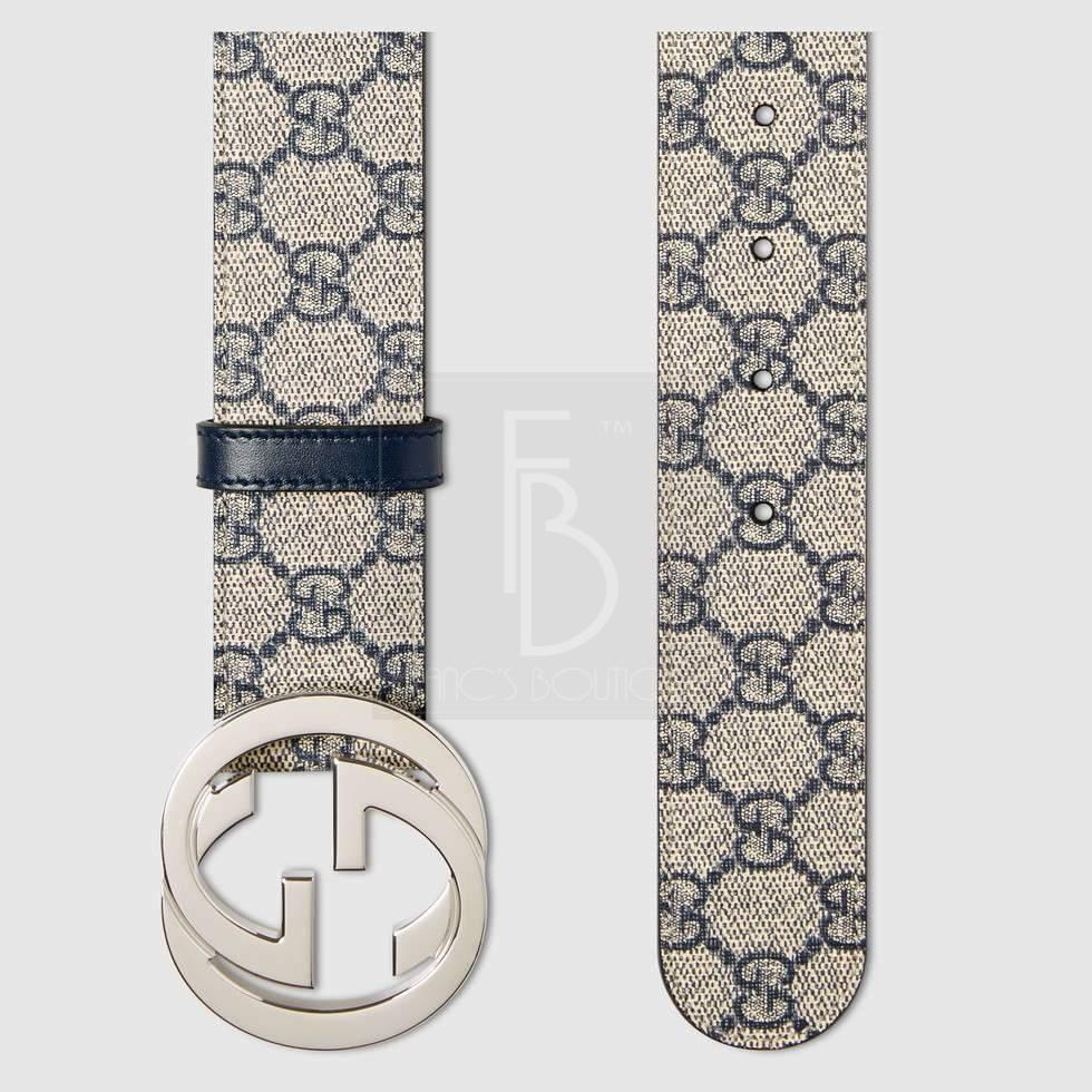 eae654318 Gucci GG Supreme belt with G buckle – franc's boutique