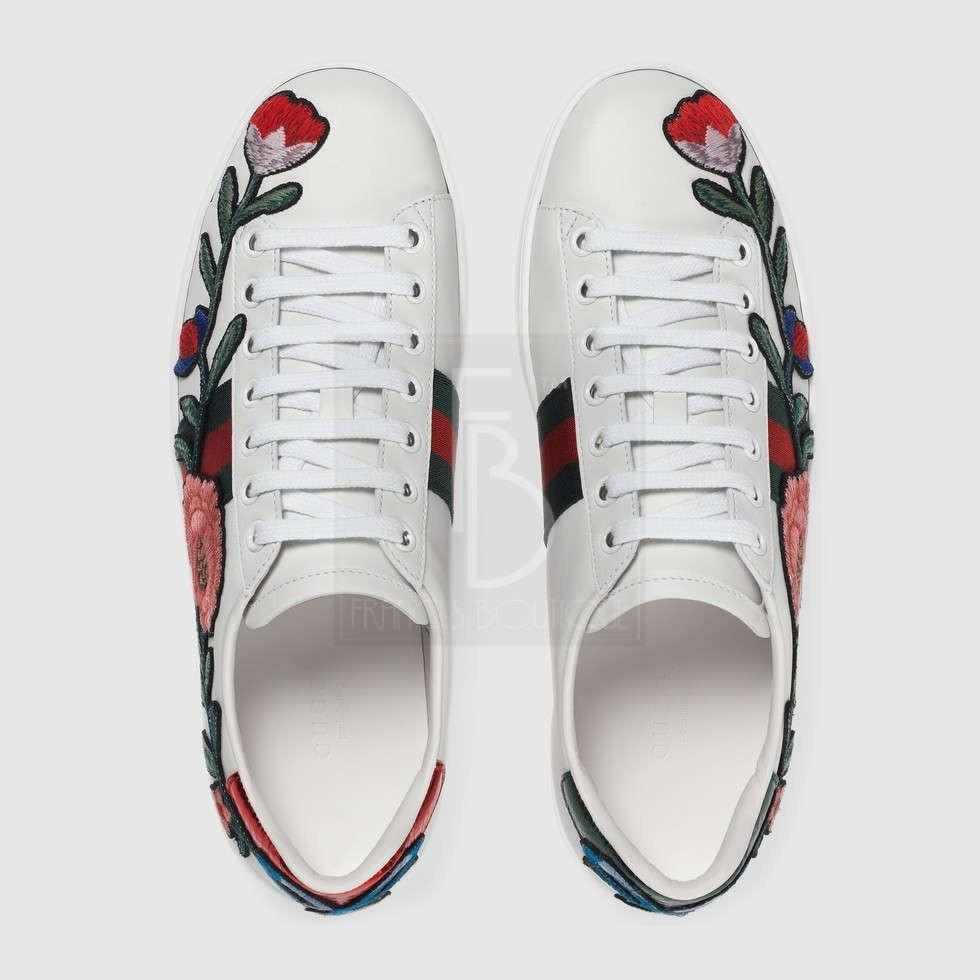 Gucci Ace Embroidered Low-tops – franc's boutique