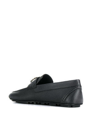 VALENTINO BLACK LOAFERS