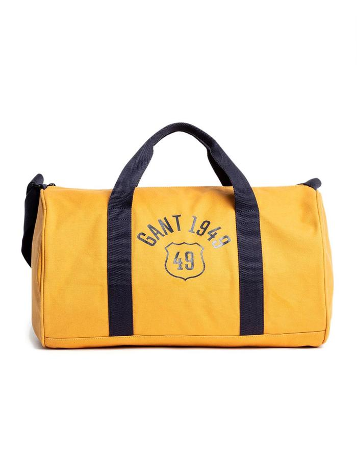 GANT YELLOW TRAVEL BAG
