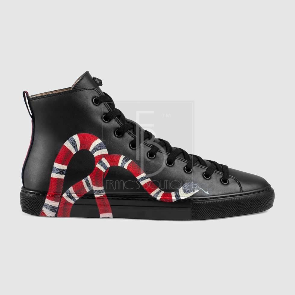 Gucci Hightops With Snake