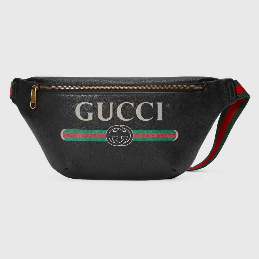 Gucci Printed Belt Bag