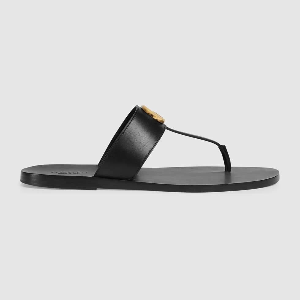 cc22847371c Gucci thong sandal with Double G – franc s boutique